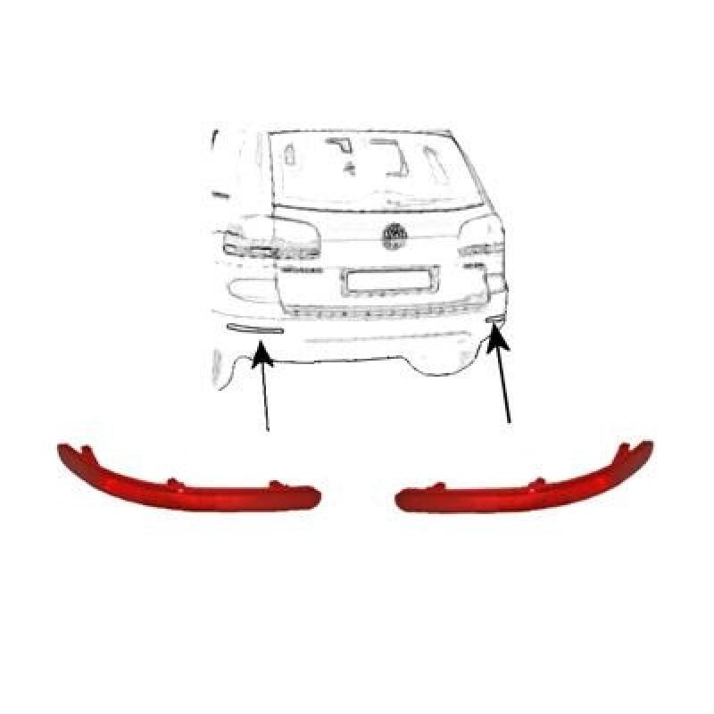 2 Catadioptres Arriere Volkswagen Touareg
