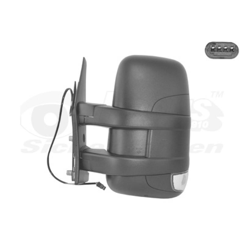 Rétroviseur extérieur gauche manuel Iveco Daily 2006-2010 (avec bras court)