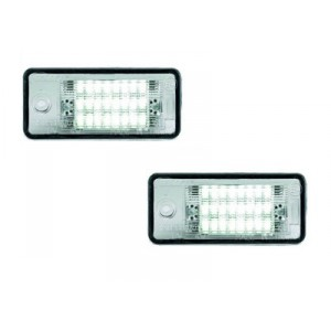 Eclairage de plaque immantriculation Audi Q7 (LED / Design)