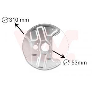 Protection disque de freins avant Volvo 740 / 760 1988-1991 (avec ABS)
