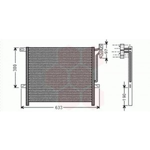 Condenseur / Radiateur de Clim BMW X3