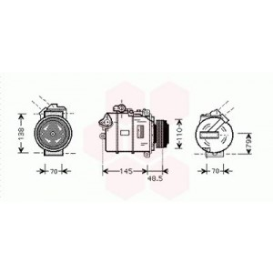 Compresseur de Climatisation BMW X3 ( 3.0D )