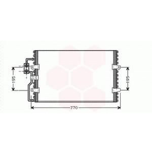 Condenseur / Radiateur de Clim Peugeot Expert