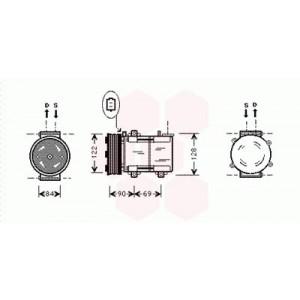 Compresseur de Climatisation Mazda Tribute ( 3.0i 24V )
