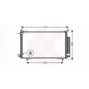 Condenseur / Radiateur de Clim Honda CRV (2.0)