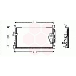 Condenseur / Radiateur de Clim Mitsubishi L200