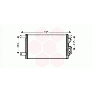 Condenseur / Radiateur de Clim Mitsubishi Pajero Sport