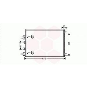 Condenseur / Radiateur de Clim Renault Scénic