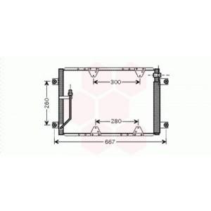 Condenseur / Radiateur de Clim Suzuki Grand Vitara (2.0 Tdi)