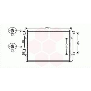 Radiateur Moteur Audi A3 (1.9 TDI)