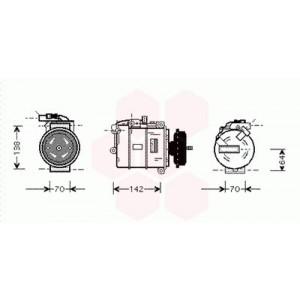 Compresseur de Climatisation Volkswagen Touareg ( 2.5 Tdi ) (
