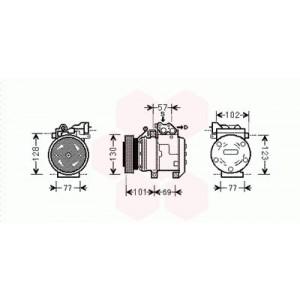 Compresseur de Climatisation Kia Sportage ( 2.7 24V )