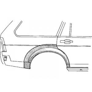 Arc d'aile arrière droit Volkswagen Passat 1980 - 1988