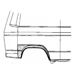 Arc d'aile arrière droite Volkswagen Transporter T3 1980 - 1992