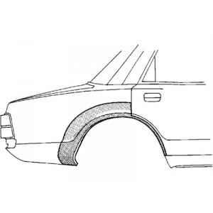Arc aile arrière droite Volvo 440 / 460 1988-1996