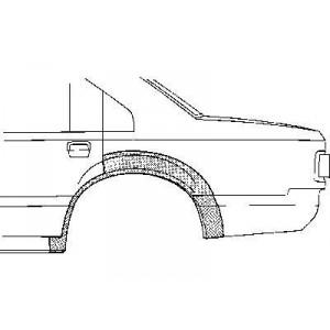 Arc aile arrière gauche Ford Scorpio (1985 à 1994)