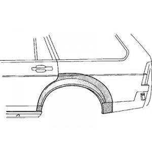 Arc d'aile arrière gauche Volkswagen Santana 1981 - 1985