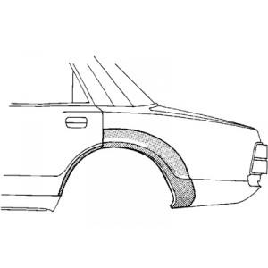 Arc aile arrière gauche Volvo 440 / 460 1988-1996