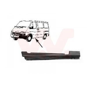 Bas de caisse latéral avant gauche Ford Transit 1991-1994 (pièce de carrosserie en métal)