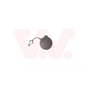 Couvercle pour crochet de remorquage avant VW Golf 7 2017-2020 (phase 2 / pièce de carrosserie à peindre)