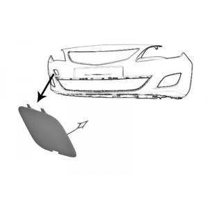 Cache crochet remorquage avant Opel Astra J GTC 2011+ (3 portes)
