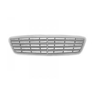 Grille de calandre Mercedes Classe C W203 Elegance / Avantgarde 2000-2004 (avec grille de couleur grise)