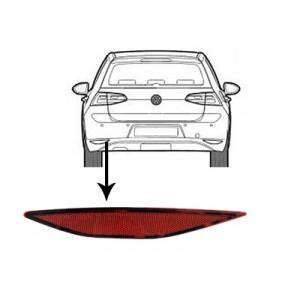Réflecteur arrière gauche VW Golf 7 2012-2017 (phase 1)