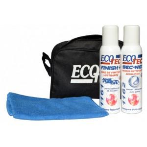 Cire lustrante et mousse nettoyante auto-active : pack de 2 produits professionnels pour remettre à neuf votre véhicule