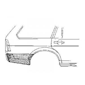 Coin bas aile arrière droit Volkswagen Passat Variant 1980 - 1988