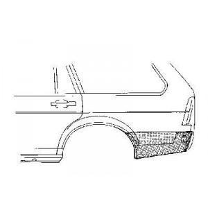 Coin bas aile arrière gauche Volkswagen Passat Variant 1980 - 1988