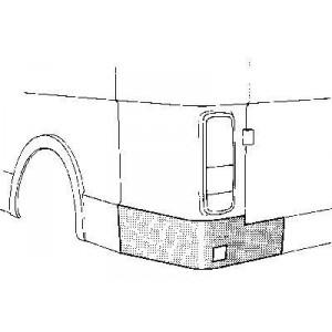 Coin bas aile arrière gauche Volkswagen LT 1982 - 1996