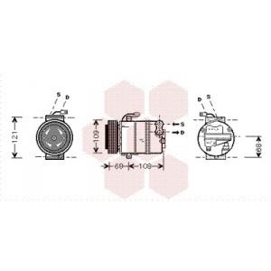 Compresseur de Climatisation Opel zafira A 2.0 Diesel / 2.0 DTi / 2.2 DTi