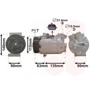 Compresseur de climatisation Renault Master 2.3 dCi 2010+