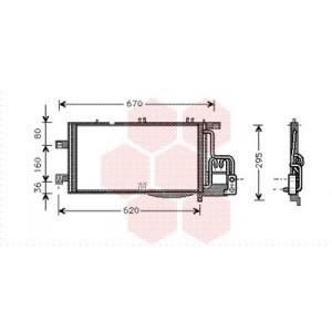 Condenseur Climatisation Opel Tigra Twintop (1.3 CDTi)