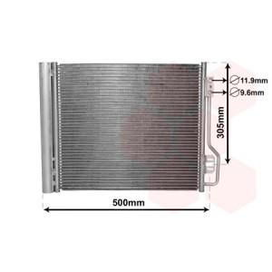 Condenseur de clim Smart Fortwo diesel / essence 2007-2014