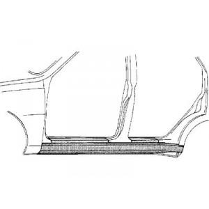 Bas de caisse Gauche Volkswagen Vento