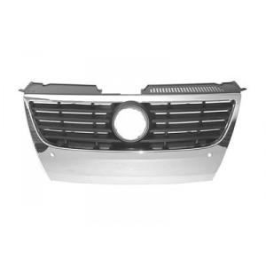 grille de calandre Chromé Volkswagen Passat (park control / 130mm) 2005 - 2010