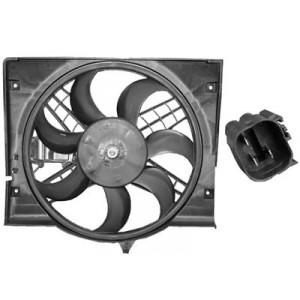 Cadre + Ventilateur électrique BMW Serie 3 E46 pour radiateur (DIESEL)