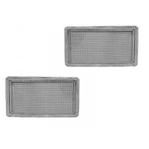 2 Demi-caches crochet Volkswagen Golf 3 1991-1998