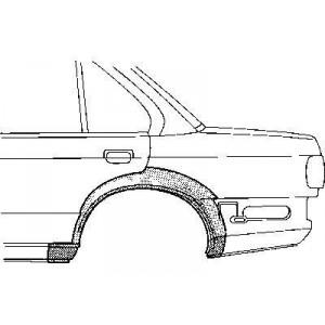 Arc d'aile Arriere Gauche BMW Série 3 E30 4 portes (1982-1987)