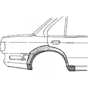 Arc d'aile Arriere droit BMW Série 3 E30 4 portes (1982-1987)