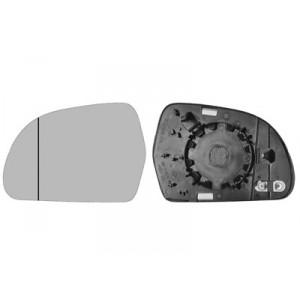 Glace de rétroviseur extérieur gauche Audi Q3 2011+ (phase 1 et phase 2)