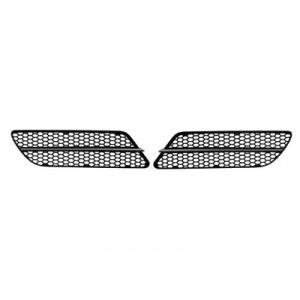 2 grilles avant Alfa Romeo 147 2005-2010 (moulures chromées)