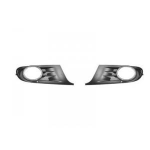 2 grilles pare choc Volkswagen Golf VI (pour antibrouillard) 2008 - 2012