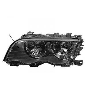 Phare double avant gauche BMW Série 3 E46 (noir, Xenon) 1998 à 08/2001