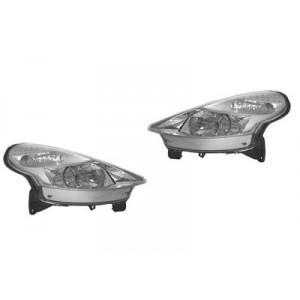 2 Phares avant  (H7+H1) Citroen C3 Pluriel (marque Bosch) 05/2003+