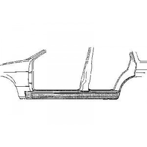 Bas de caisse Gauche Ford Escort III (4 Portes)