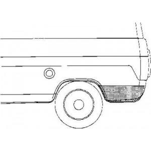 Coin d'aile Arrière Gauche Ford Transit