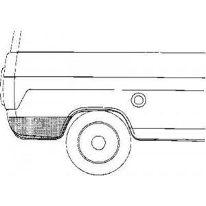 Coin d'aile Arrière Droit Ford Transit
