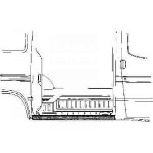 Tole latéral gauche Ford Transit